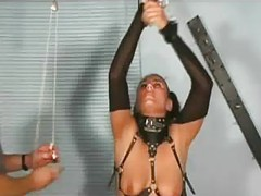 Girl With Collar Fucked With