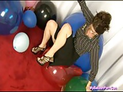 Kymberly jane in balloon