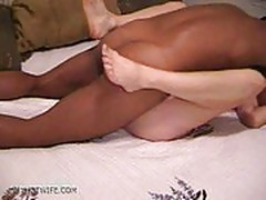 White wife gets pounded by black guy