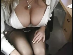 Big Tit Office Slut In