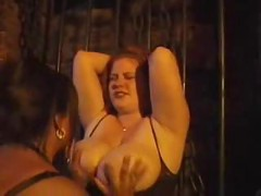 Busty Red Head Becomes A Slave ( bbw 18 sex )<br>