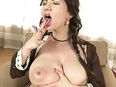 BBW Big Tits Brunette Honey