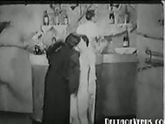 Vintage Porn 1930s  Nudist Bar