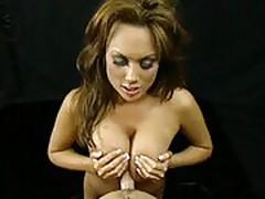 Kira Kener titty fucking!