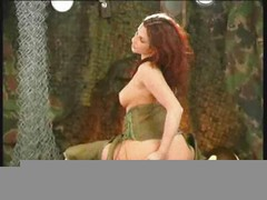 Redhead Military Masturbation - OZ