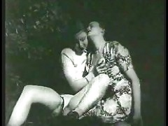 Vintage- Woods Lesbian 1940  # -by Sabinchen
