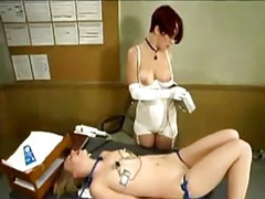 Schoolgirl Tied To Desk