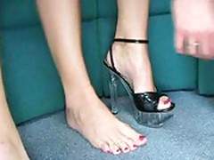 British English Sluts Donna Marie and Poppy Morgan in office