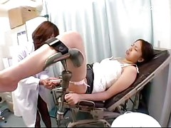 Girl Getting Enema To Her Asshole Asshole Licked Plugged By The Doctor At The Surgery<br>