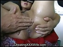 Fisting amateur housewife