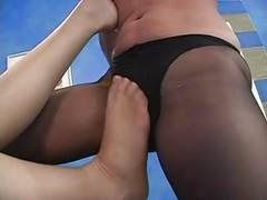 pantyhose lesbians