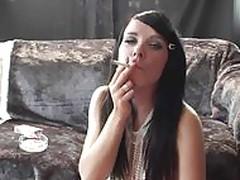 Naomi Smoking
