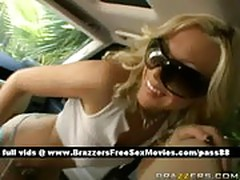 A Gagging In The Car
