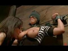 Lesbian BDSM Sluts in Bondage<br>