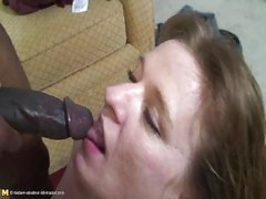 Big mature mama fucked by a