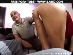 Brunette Mature Threesome