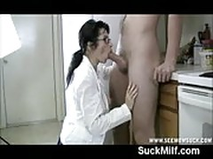 Milf is checking weither