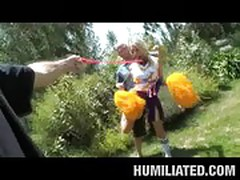 Cheerleader Humiliated!