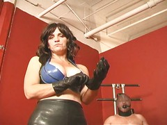 Dominatrix hardcore cock and