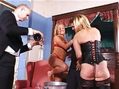 Big tits british milf josephine james and english slut donna