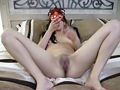 Petite Latina 1st Homemade Masturbation. Pussy  Ass