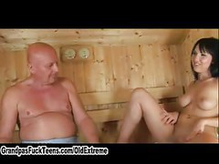 Teen In The Sauna<br>