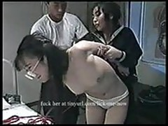 Young Asian tied and d