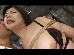 Asian In Stockings Tied<br>