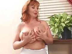 redhead mature Cherry Brady