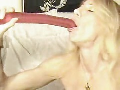 Deepthroating Her Toy - ACS