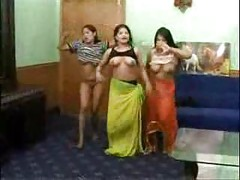 indian college teenage babes nude dance in their hostel room<br>