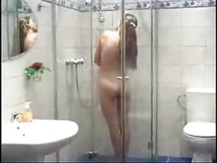 Pretty Asmira getting fucked in the shower<br>