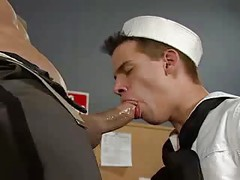gay sucks Mr. Prick in office