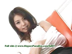 Aya Hirai,  asian model has a cute wet pussy<br>