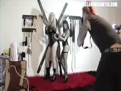 Sabrina Sabrok lesbian bdsm