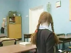 Russian Teacher Punishes One