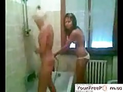 Romanian Girls Have Fun In The Shower