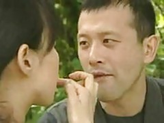 Chinese young couple fucking very hardly 2 times in FIELD ar