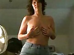 Mature Wife Dances Like A