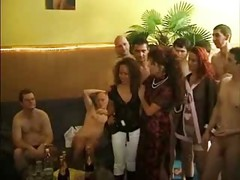 German Swinger Party Orgy -