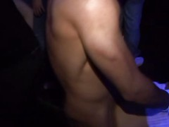 Drunk girls fuck on stripper party