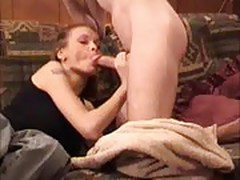 Hot Wife Loves Eating Sperm