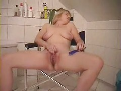 Morning masturbation of my mature wife