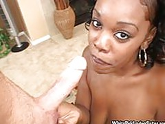 White Dick And Black Chick