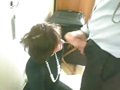 Secretary gets a mouthful