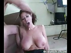 Hot MILF fucked hard and severly abused