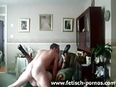Amateur hardcore couch fuck