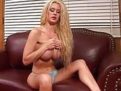 Victoria Givens masturbating