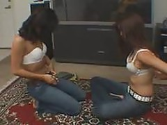 Two Hot Teen Blowjob