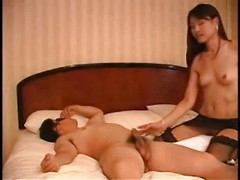 Korean Hottie Fucking 2 Guys